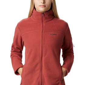 Columbia Fast Trek II Jas Dames, dusty crimson